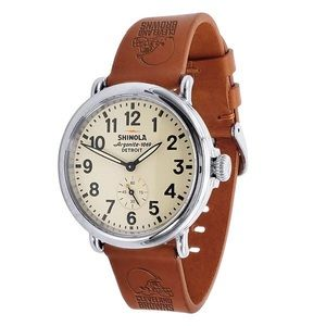 Cleveland Browns Quick Change Leather Watchband